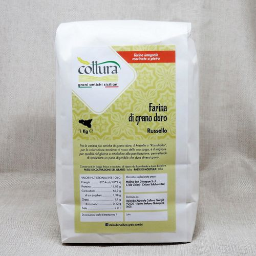 Hard wheat flour Russello