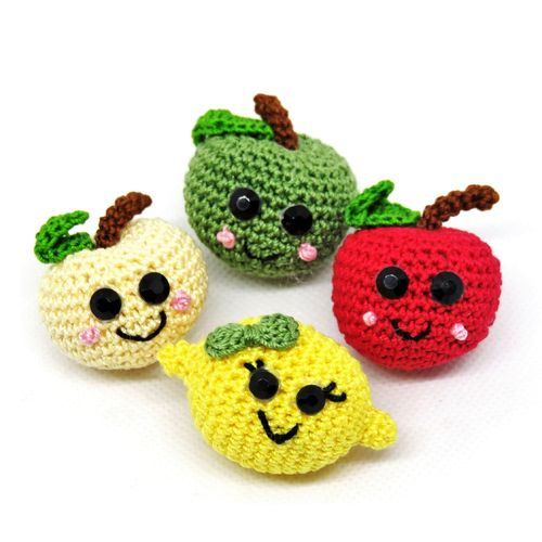 Fruit Apples and Lemons magnet